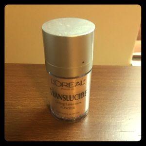 L'Oréal Translucide Warm Light Face Body Powder